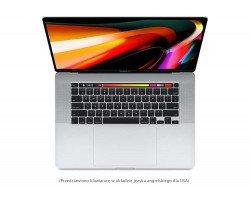 Apple MacBook Pro 16'' 2.6GHz (i7)/16GB/512GB SSD/Radeon Pro 5300M 4GB (srebrny) - nowy...
