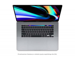 Apple MacBook Pro 16'' 2.4GHz (i9)/32GB/1TB SSD/Radeon Pro 5500M 8GB (gwiezdna szarość)...